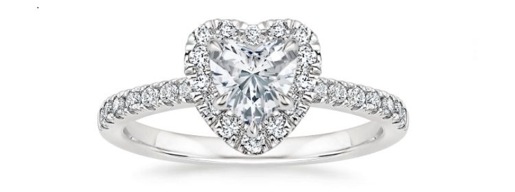 Poppy Halo Diamond Engagement Ring
