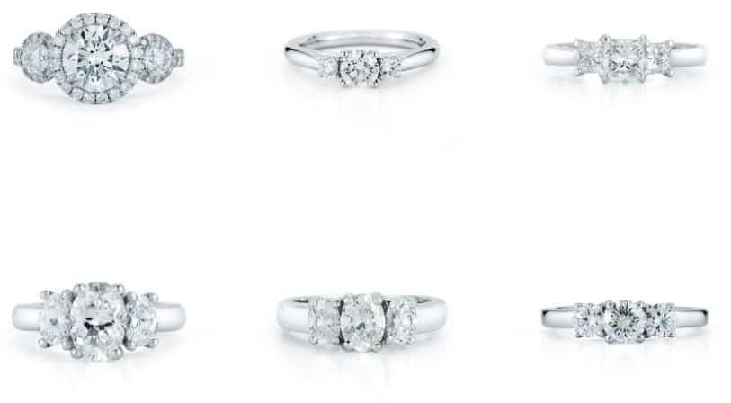Best Old European Cut Diamond Ideas  abe mor rings