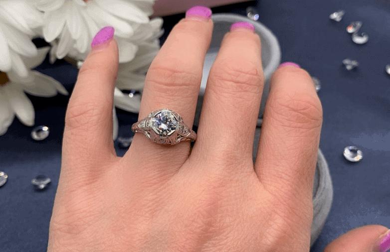 Best Old European Cut Diamond Ideas jessica l jewelry