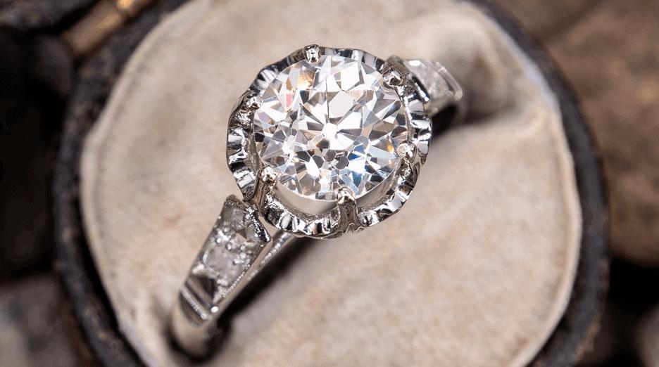 Best Old European Cut Diamond Ideas antique buttercup