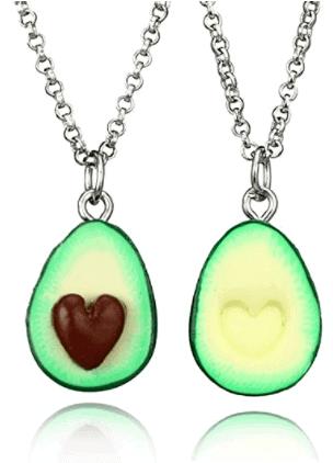 Avocado BFF Necklaces