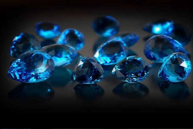 Best Blue Gemstones in Jewelry: Blue Topaz