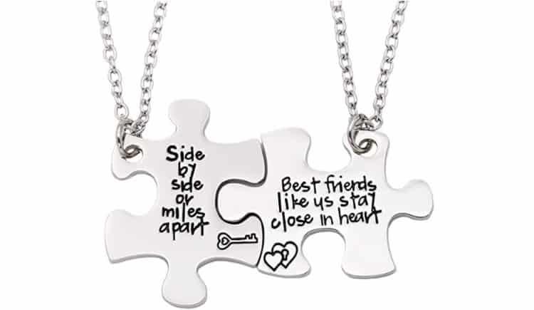 Best Friend Necklace Ideas Puzzle Pieces Necklaces
