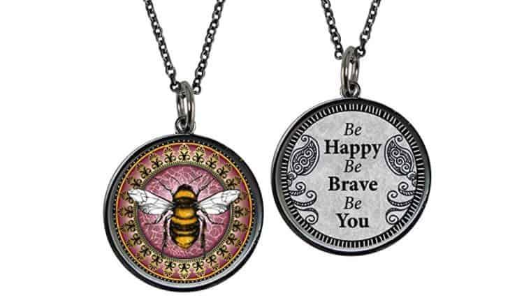 Best Friend Necklace Ideas Reversible Friendship Pendants