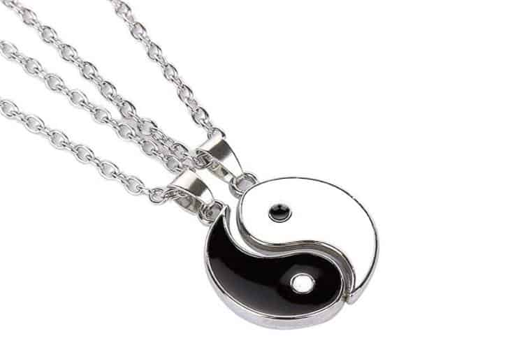 Yin and Yang Necklaces