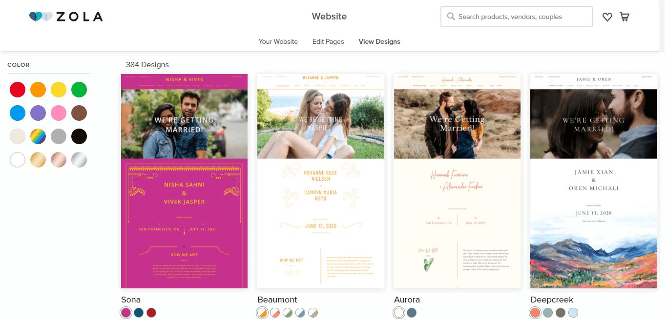 Zola vs Blueprint wedding registries