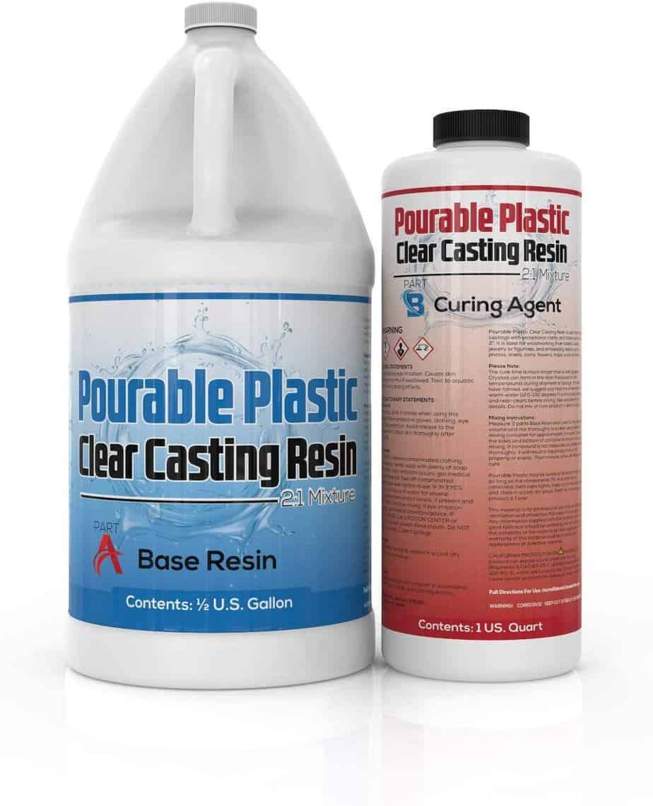 Incredible solution clear casting resin