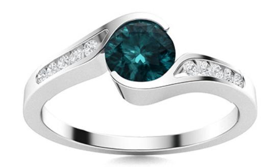 Gerraldine Blue Diamond