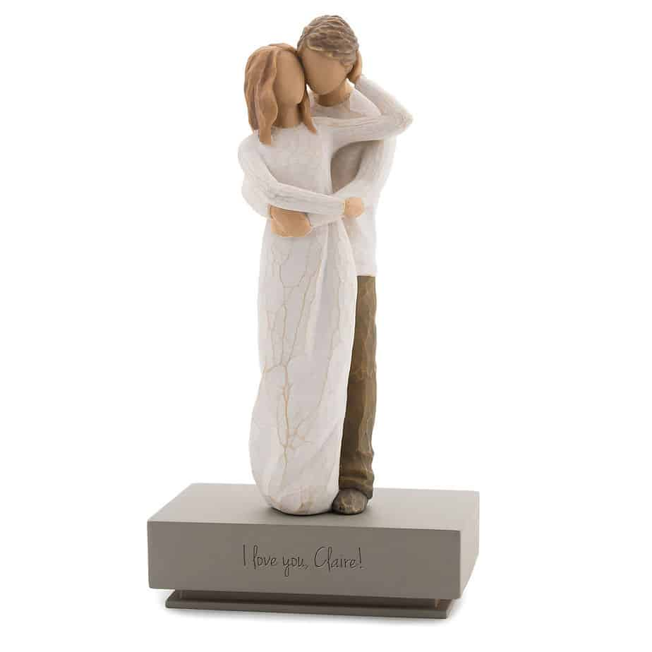 Willow Tree Together Figurine with Shelf Stand | Things Remembered