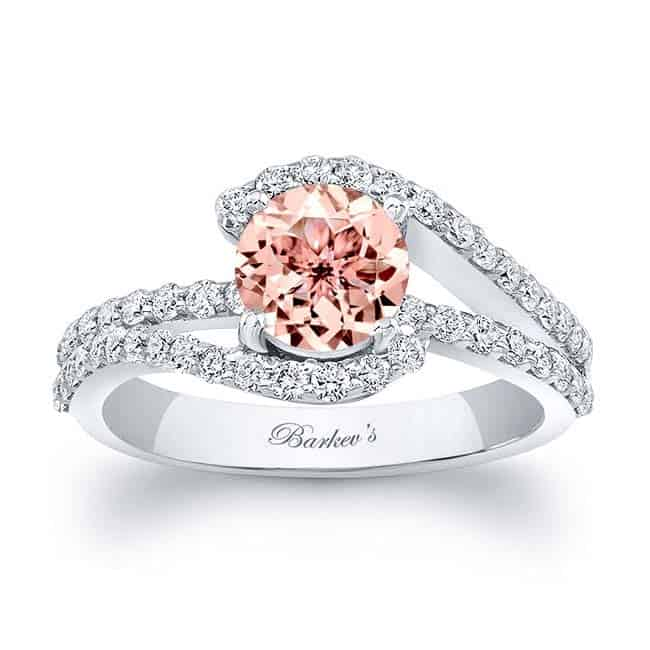 A Wide Variety of Morganite Engagement Rings | Barkev's
